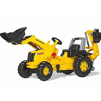 Rolly toys JCB 8250 V-tronic Kids tractor for 3 - 8 year old-yellow