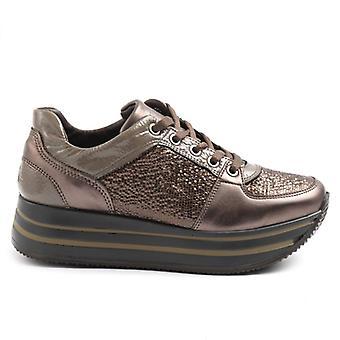 &Brown Igi;co Sapato feminino com cunha baixa
