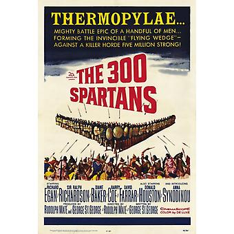 The 300 Spartans Movie Poster Print (27 x 40)