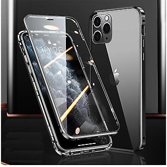 Magnetic case double-sided tempered glass for Iphone 11