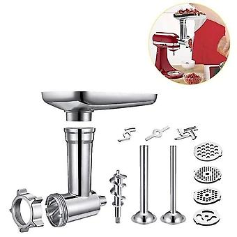 Steel Kitchen Meat Grinders Sausage Stuffer Attachment For Kitchen Aid Stand