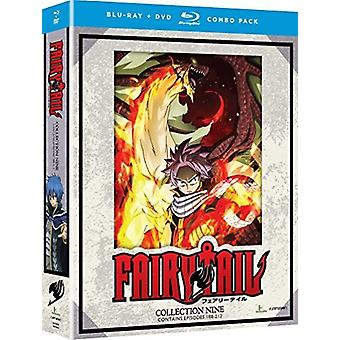 Fairy Tail: Collection Nine [Blu-ray] USA import