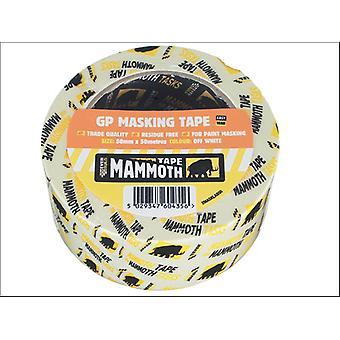 Everbuild Mammoth Retail Masking Tape 50mm x 50m