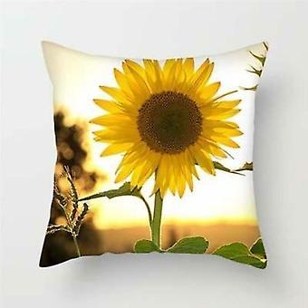 Copertina cuscino stampa floreale per divano camera da letto auto