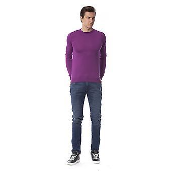 Trussardi Jeans V Amethyst Long Sleeve Sweater