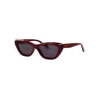 Mulberry SML034 09FH Shiny Full Bordeaux/Grey Sunglasses