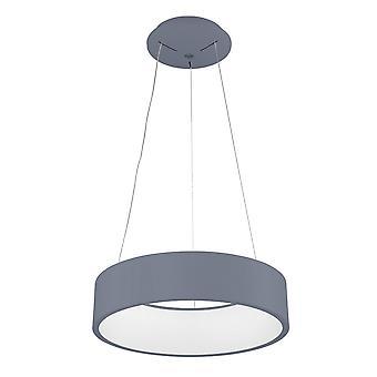 Italux Chiara - moderne LED hängen Anhänger grau, warm weiß 3000K 1760lm