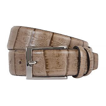 OTTO KERN belts men's belts leather belt Brown/camel 2248
