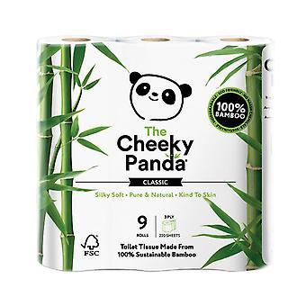 Fræk Panda Toilet Tissue Bamboo 3ply 9 ruller x5