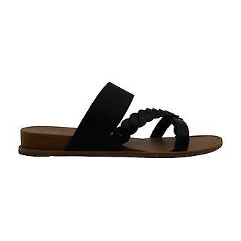 Dolce Vita Womens penelope Fabric Open Toe Casual Slide Sandals