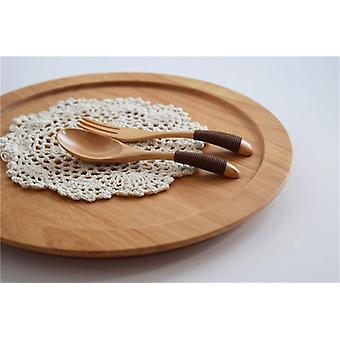 Handcrafted Wooden Soup Spoon