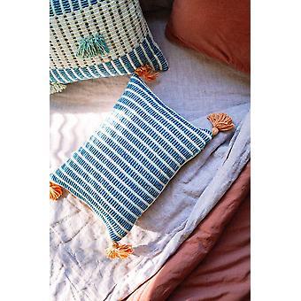 Jardin Pillow Indigo + Seaglass