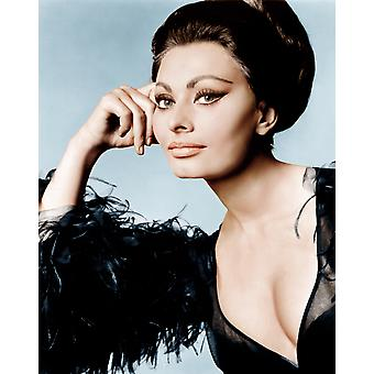 Arabesque Sophia Loren 1966 Photo Print