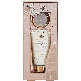 Style & Grace Utopia Festive Rescue Gift Set 50ml Hand Lotion + 10ml Lip Balm