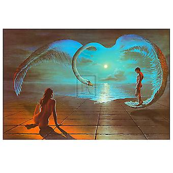 Wings of Love Juliste Tulosta Stephen Pearson (36 x 24)