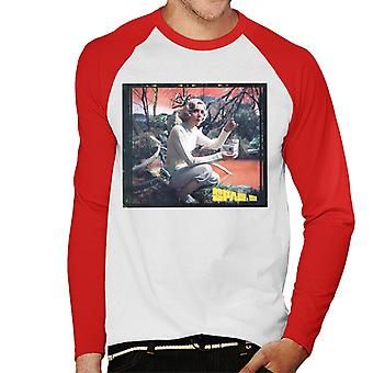 Space 1999 Helena Russell Matter Of Life And Death Men's Baseball Long Sleeved T-Shirt