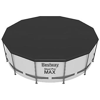 Bestway Flowclear Above Ground 12ft Steel Frame Swimming Pool Cover