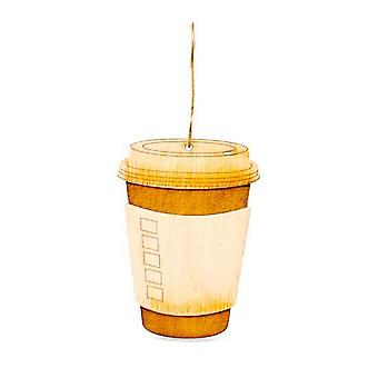 القهوة للذهاب زخرفة