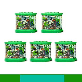 Blind Box Lotter Plants Vs Zombies Figures Building Blocks & Pvz Action Figures