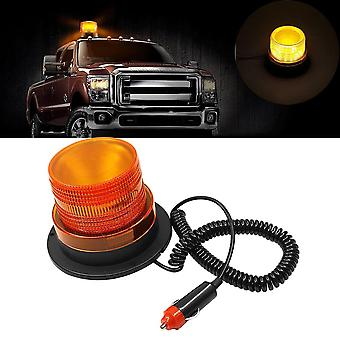 Flash Strobe Lamp Car Rotating Traffic Safety Warning/school Led Yellow Round