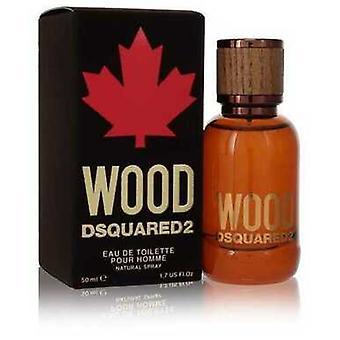 Dsquared2 Wood By Dsquared2 Eau De Toilette Spray 1.7 Oz (men) V728-554122