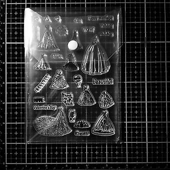 10pc Transparent Portable Storage Bag- New Storage Card Cover