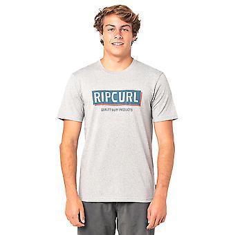Rip Curl Men's Marl T-Shirt ~ Boxed grey