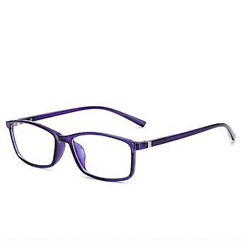 Men Women Anti Blue Rays Square Glasses