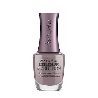 Artistic Colour Revolution Nail Polish - Hold Me On A Petal-Stal