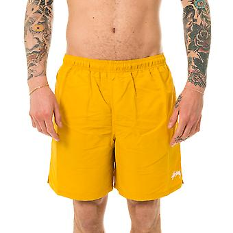 Men's costume stussy stock water short yellow 113129.yellow