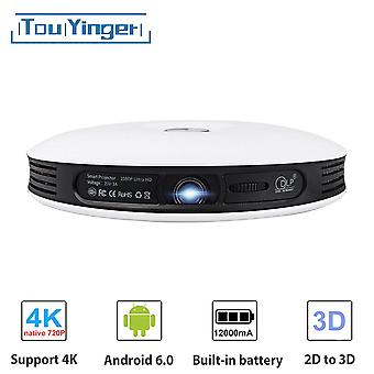 Android DLP 3D Projector wifi for phone Full HD 4K