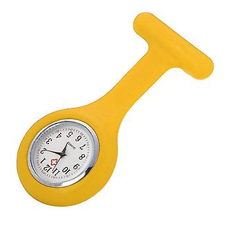 Fashion Pocket Watches Silicone Nurse Watch Brooch Tunic Fob Watch