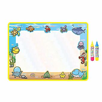 Magic doodle mat educational kids water drawing toys gift kt-15