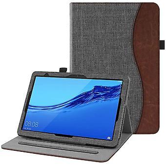FengChun Hlle fr Huawei MediaPad T5 10.1 - Kunstleder Multi-Winkel Betrachtung Folio Stand