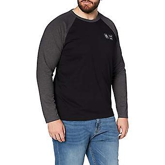 edc av Esprit 110CC2K303 T-Shirt, 001/black, XS Herr