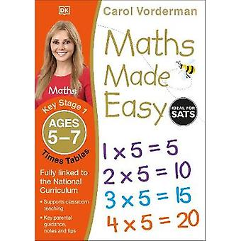 Maths Made Easy Times Tables Ages 57 Key Stage 1 Supports the National Curriculum Multiplication Exercise Book Made Easy Workbooks