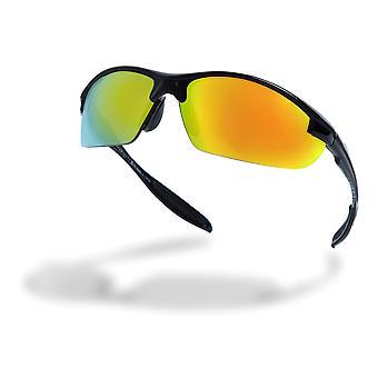 Högre tillstånd halv ram kör solglasögon - AW21