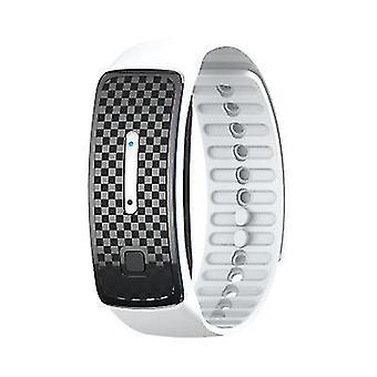 Bracelet anti-moustique usb électronique portable blanc x3983