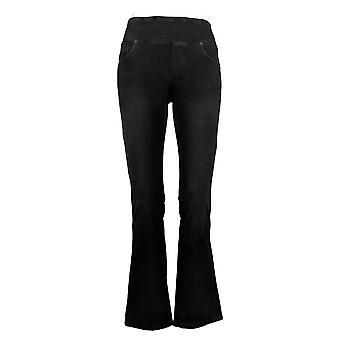 DG2 by Diane Gilman Women's Jeans Petite Stretch Jegging Black 686403