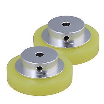 2PCS Aluminiowy miernik kół 50x6mm do narzędzi przemysłowych
