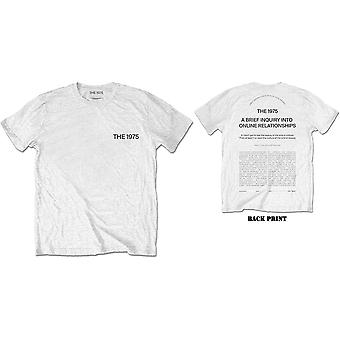 The 1975 - ABIIOR Wecome Welcome Men's Small T-Shirt - White