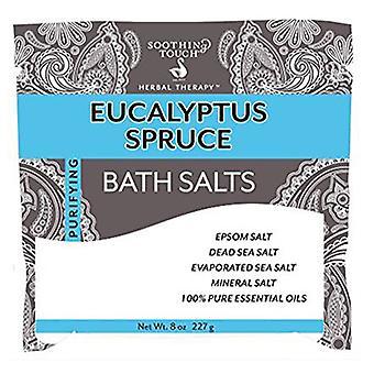 Soothing Touch Bath Salt, Eucalyptus 8 Oz