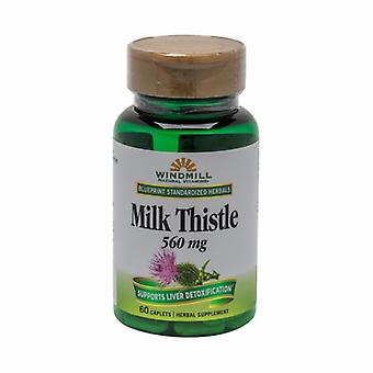 Windmill Health Milk Thistle, 560mg, 60 Tabs