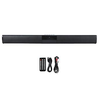 Bs-28b Wireless  Speaker High Power Soundbar For Home Use With Controller (black)