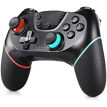 Kontroler bezprzewodowy dla Nintendo Switch, Chronus Switch Pro Controller Switch Remote Gamepad na konsolę Nintendo Switch z oś Gyro, funkcją Turbo i podwójną wibracją (czarny)