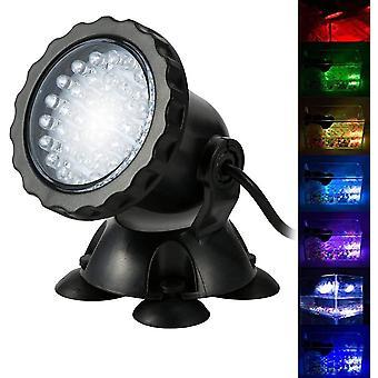Aquarium Projecteur Avec Base Ip68 3.5w 12v Spot Lamp Submersible Multicolored Angle Réglable Lampe Sous-Marine Led