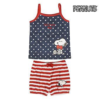 Summer Pyjama Snoopy 74587 Children's (2 Pcs)