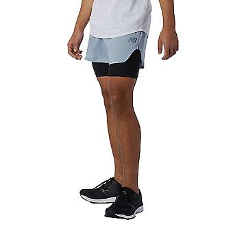 New Balance London Edition Q Speed Fuel 2-In-1 5 Zoll Laufshorts - AW21