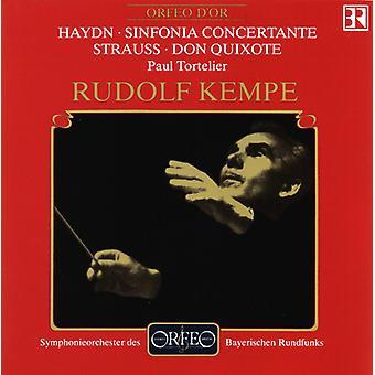 Haydn/Strauss - Sinfonia Concertante/Don Quixote [CD] USA import