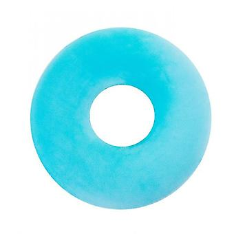 Donut Pillow Seat Cushion Orthopedic Design| Tailbone & Coccyx Memory Foam Pillow(Blue)